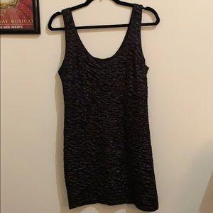 Forever 21 Black Sparkly Body Dress
